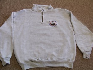Gray Zippered Sweatshirt